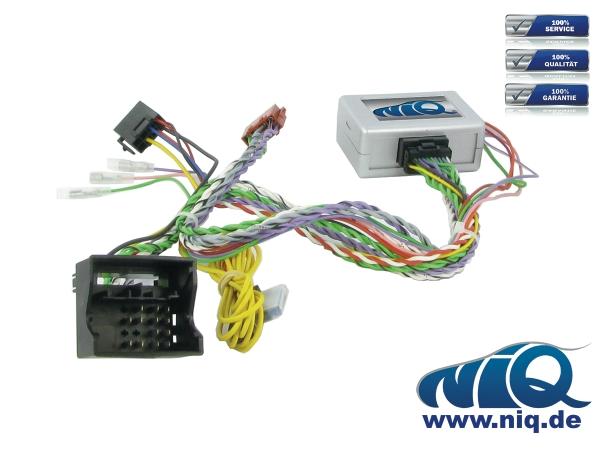 3 Warntöne für BMW 1er PUMPKIN CAN-BUS Lenkradfernbedienung Adapter mit PDC